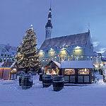 Новый год 2010 в Эстонии